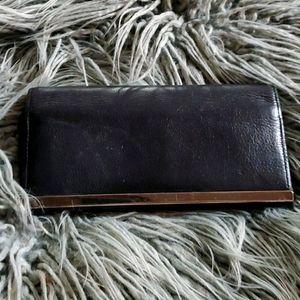 Via Roma Leather Wallet